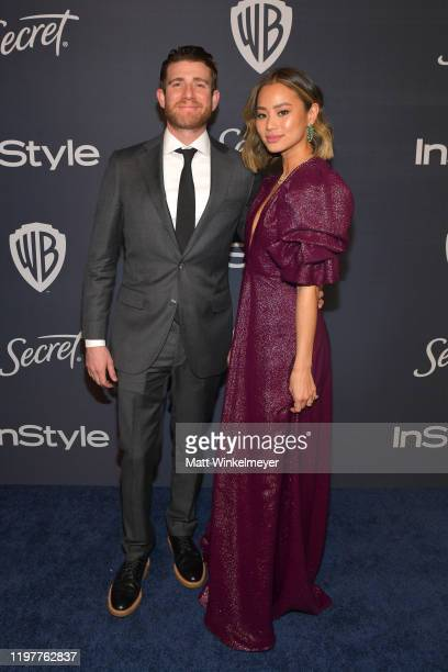 Bryan Greenberg and Jamie Chung attend The 2020 InStyle And Warner Bros. 77th Annual Golden Globe Awards Post-Party at The Beverly Hilton Hotel on...