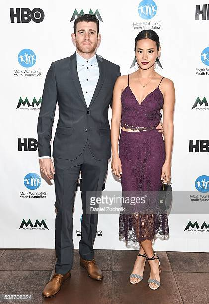Bryan Greenberg and Jamie Chung attend the Moving Mountains For The Arts Award Gala at 26 Bridge Street on June 7 2016 in New York City