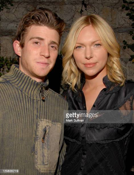 Bryan Greenberg and Laura Prepon during Milk Cookies Night Celebrating Mean Magazine's Apocalypse Issue at Les Deux in Hollywood California United...
