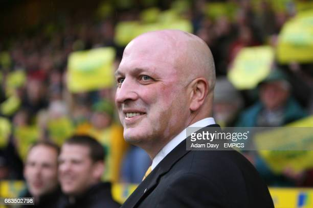 Bryan Gunn Norwich City manager