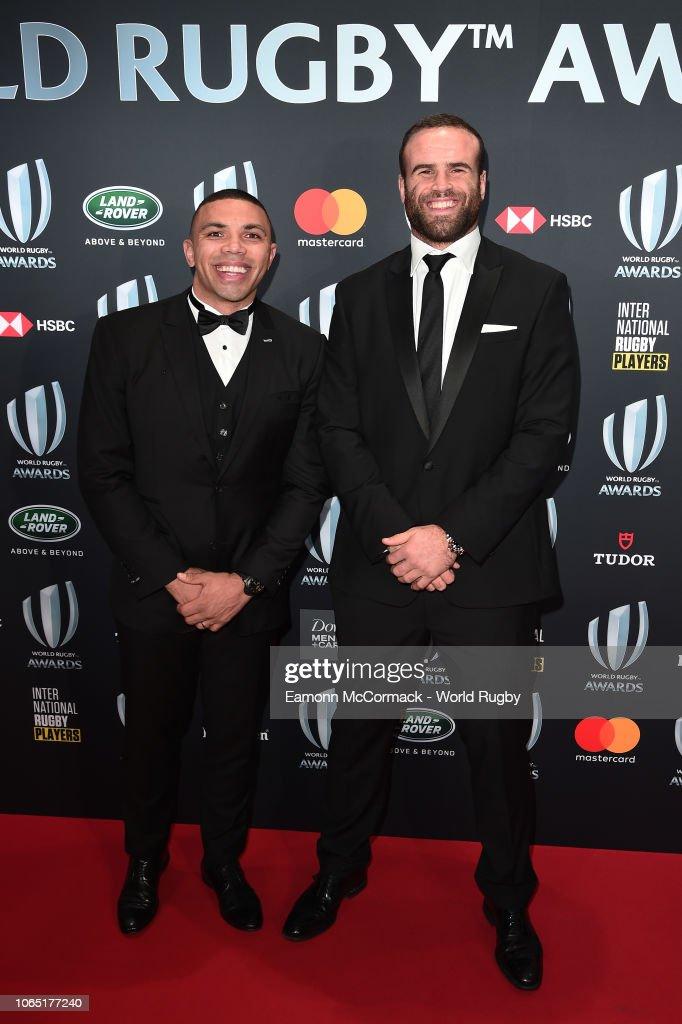World Rugby Awards 2018 : News Photo