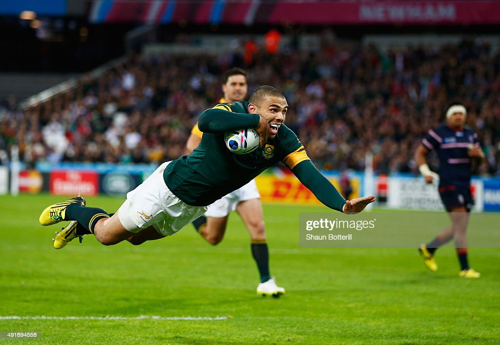 South Africa v USA - Group B: Rugby World Cup 2015 : News Photo