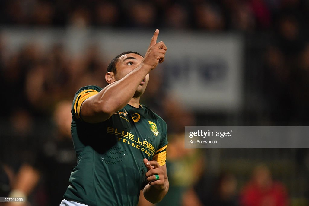 New Zealand v South Africa : News Photo