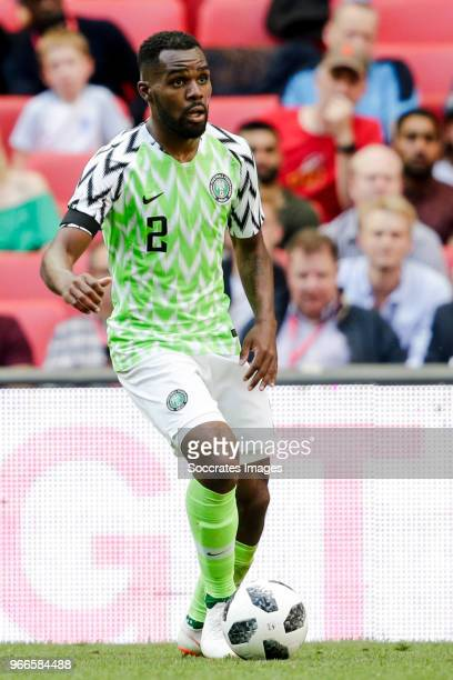 Bryan Idowu of Nigeria during the International Friendly match between England v Nigeria at the Wembley Stadium on June 2 2018 in London United...