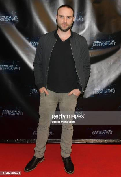 Bryan Kaplan attends the Chronicles of Jessica Wu Season 2 premiere at SAGAFTRA Foundation Screening Room on April 20 2019 in Los Angeles California