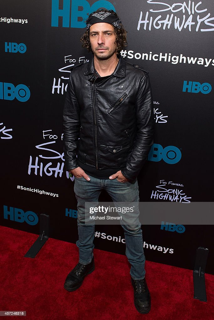 Bryan Lee Brown attends 'Foo Fighters: Sonic Highways' New York Premiere at Ed Sullivan Theater on October 14, 2014 in New York City.