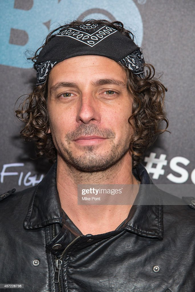 Bryan Lee Brown attends the 'Foo Fighters: Sonic Highways' New York Premiere at Ed Sullivan Theater on October 14, 2014 in New York City.
