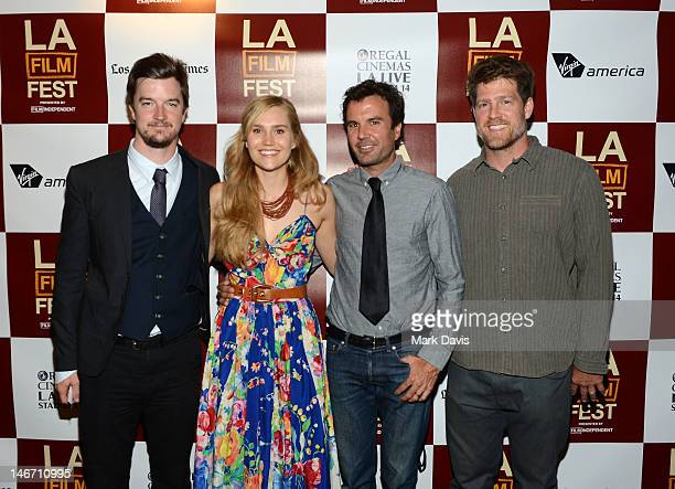 """Bryan Ling, musician Nora Kirkpatrick of Edward Sharpe and the Magnetic Zeros, director Emmett Malloy and producer Tim Lynch attend the """"Big Easy..."""