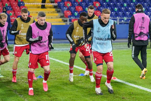 RUS: CSKA Moskva v Feyenoord: Group K - UEFA Europa League
