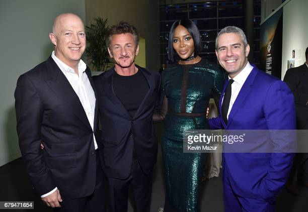 Bryan Lourd Sean Penn Naomi Campbell and Andy Cohen attend Sean Penn Friends HAITI TAKES ROOT A Benefit Dinner Auction to Reforest Rebuild Haiti to...