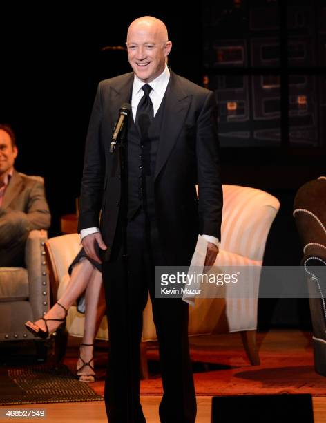 Bryan Lourd speaks onstage at The Great American Songbook event honoring Bryan Lourd at Alice Tully Hall on February 10 2014 in New York City