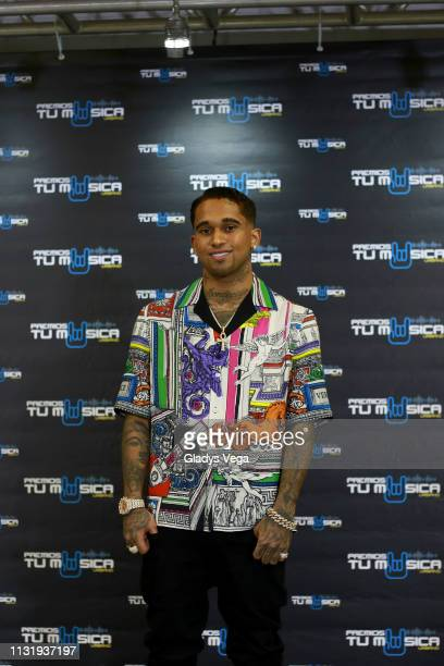 Bryan Mayer poses for media as part of 2019 Premios Tu Musica Urbano at Coliseo Jose M Agrelot on March 21 2019 in San Juan Puerto Rico