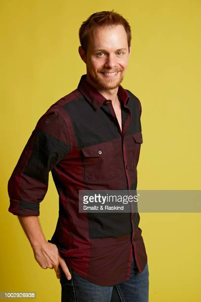 Bryan McClure from 'Space Command' poses for a portrait at the Getty Images Portrait Studio powered by Pizza Hut at San Diego 2018 Comic Con at Andaz...