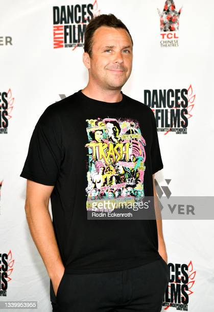 """Bryan McPherson attends the Closing Night of Dances with Film Festival with premiere of """"Mister Sister"""" at TCL Chinese Theatre on September 12, 2021..."""