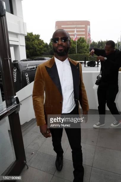 Bryan Michael Cox hosts the Bryan Michael Cox 16th Annual Music And Memory PreGrammy Brunch 2020 at SLS Hotel on January 26 2020 in Beverly Hills...