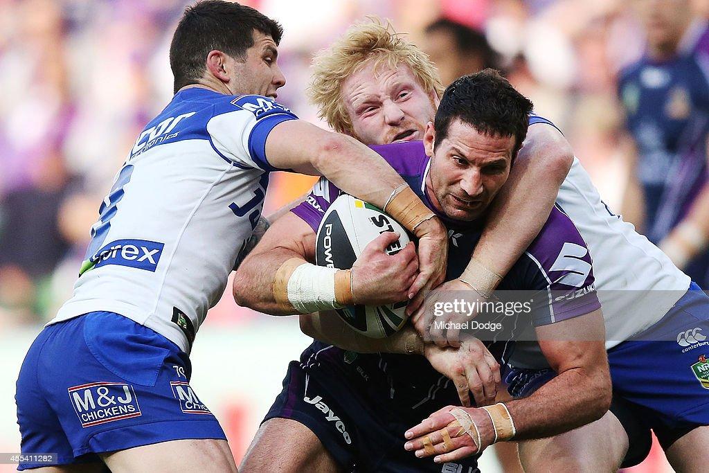 NRL 2nd Elimination Final - Melbourne v Canterbury : News Photo