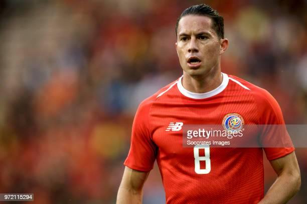 Bryan Oviedo of Costa Rica during the International Friendly match between Belgium v Costa Rica at the Koning Boudewijnstadion on June 11, 2018 in...