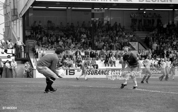 Bryan Pop Robson of Chelsea in action during the Football League Division Two match between Cambridge United and Chelsea held on August 28 1982 at...