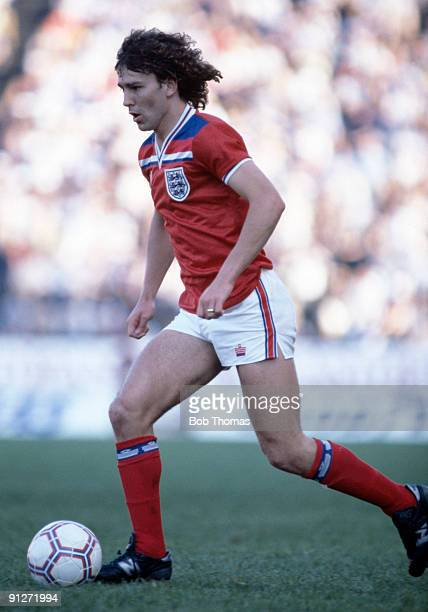 Bryan Robson of England during the Finland v England Friendly International played in Helsinki on the 2nd June 1982