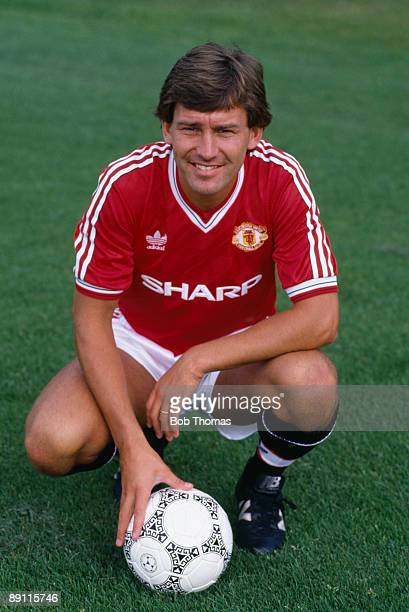 Bryan Robson of Manchester United August 1988
