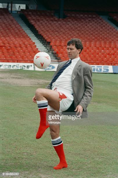 Bryan Robson unveiled as the new Manager for Middlesbrough FC Pictured doing kick ups at Ayresome Park Middlesbrough 18th May 1994
