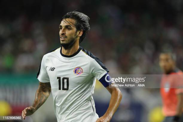 Bryan Ruiz of Costa Rica during the 2019 CONCACAF Gold Cup Quarter Final match between Mexico v Costa Rica at NRG Stadium on June 29, 2019 in...