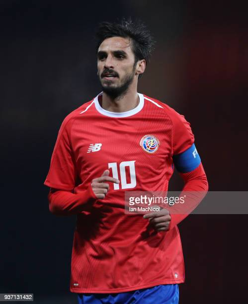Bryan Ruiz of Costa Rica is seen during the Vauxhall International Challenge match between Scotland and Costa Rica at Hampden Park on March 23, 2018...