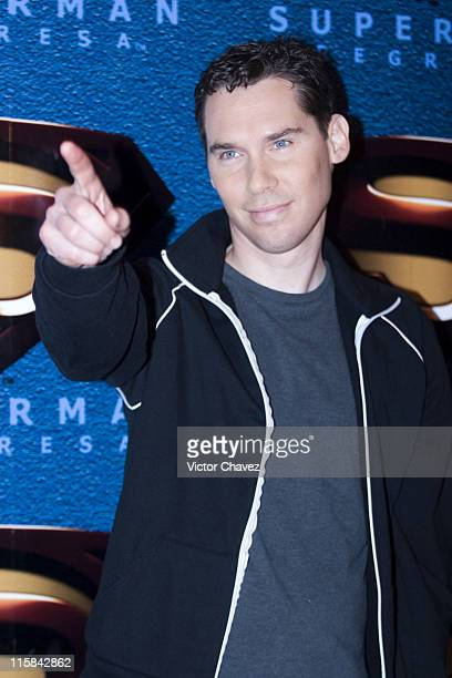 Bryan Singer director during Superman Returns Mexico City Press Conference at Four Seasons Hotel in Mexico Mexico