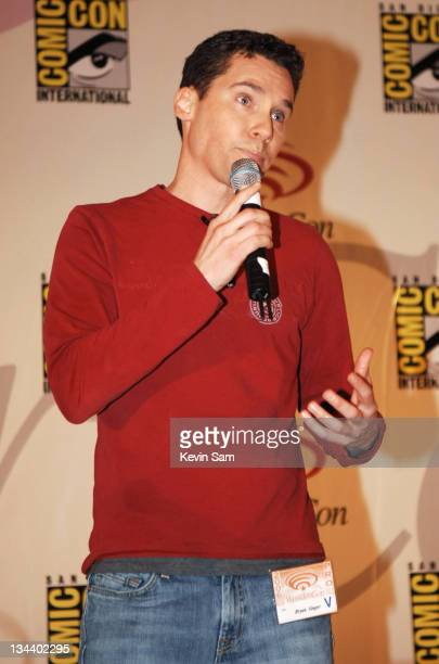 Bryan Singer during 2006 Wonder Con Day Two at Moscone Center West in San Francisco California United States