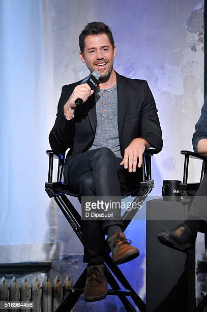"""Bryan Sipe attends the AOL Build Speaker Series to discuss """"Demolition"""" at AOL Studios In New York on March 22, 2016 in New York City."""