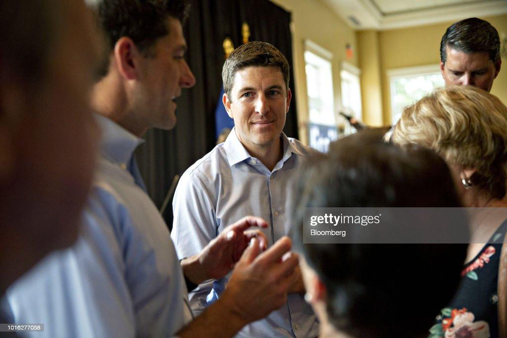 Bryan Steil, a Republican U S  Representative candidate from