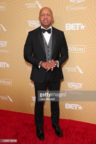 Bryan Stevenson attends American Black Film Festival Honors Awards Ceremony at The Beverly Hilton Hotel on February 23, 2020 in Beverly Hills,...