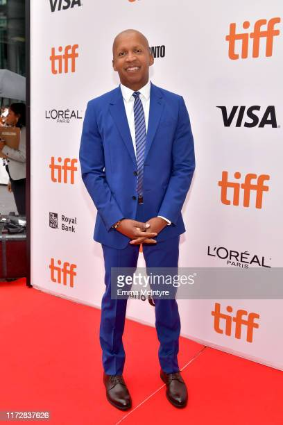 """Bryan Stevenson attends the """"Just Mercy"""" premiere during the 2019 Toronto International Film Festival at Roy Thomson Hall on September 06, 2019 in..."""
