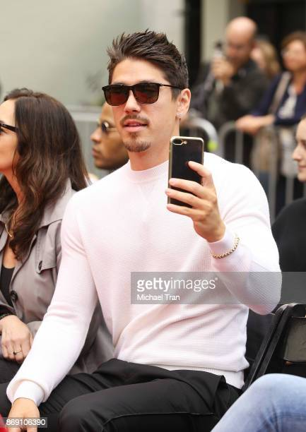 Bryan Tanaka attends the hand and footprint ceremony honoring Mariah Carey held at TCL Chinese Theatre on November 1 2017 in Hollywood California
