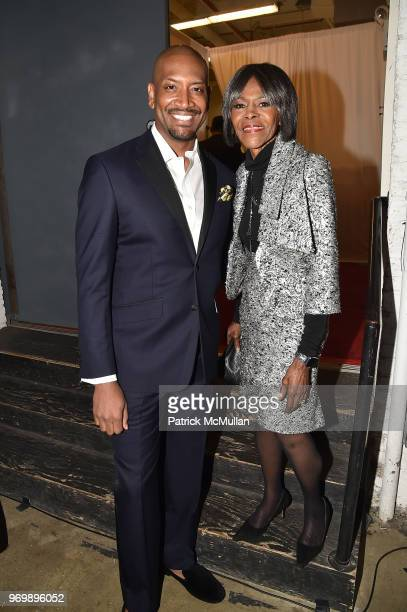 Bryan Terrell Clark and Cicely Tyson attend the HELP USA Heroes Awards Gala at the Garage on June 4, 2018 in New York City.