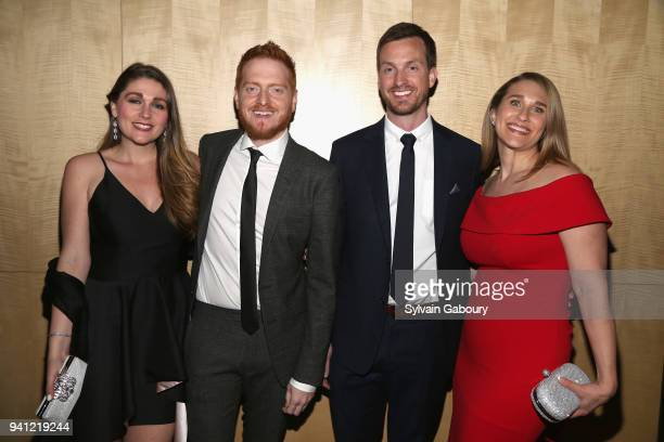 Bryan Woods and Scott Beck attend 'A Quiet Place' New York Premiere After Party on April 2 2018 in New York City