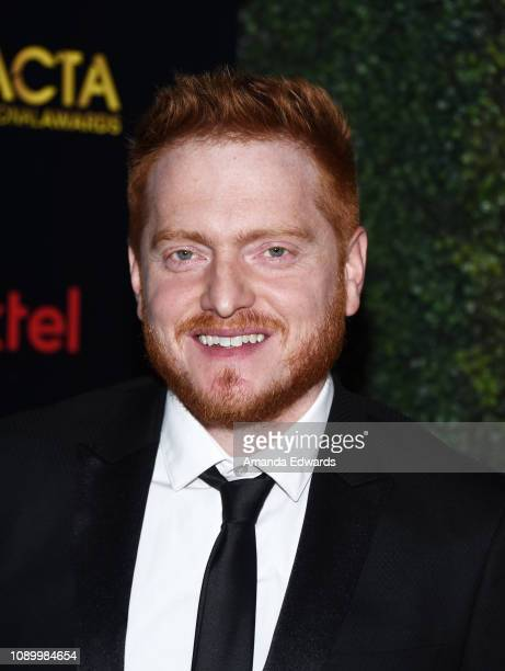 Bryan Woods arrives at the 8th AACTA International Awards at Mondrian Los Angeles on January 04 2019 in West Hollywood California