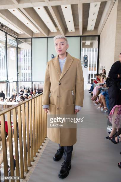 Bryan Yambao attends the Michael Kors Collection Fall 2018 Runway Show at the Vivian Beaumont Theatre on February 14 2018 in New York City