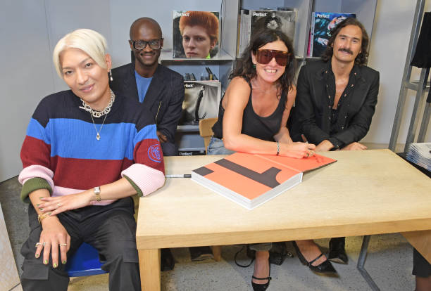 GBR: Perfect Issue One 'Joy' Signing At Dover Street Market - LFW September 2021
