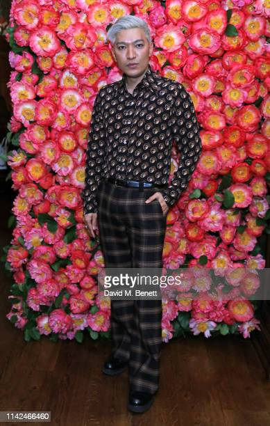 Bryanboy attends a private dinner hosted by Michael Kors to celebrate the new Collection Bond St Flagship Townhouse opening on May 9 2019 in London...