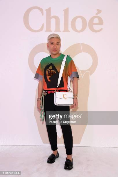 BryanBoy attends the Chloe show as part of the Paris Fashion Week Womenswear Fall/Winter 2019/2020 on February 28 2019 in Paris France
