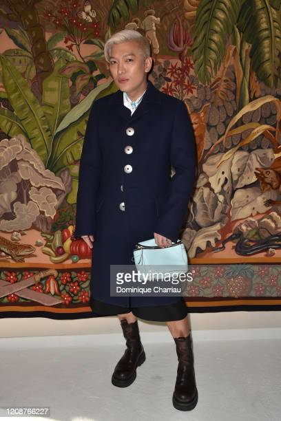 BryanBoy attends the Lanvin show as part of the Paris Fashion Week Womenswear Fall/Winter 2020/2021 on February 26, 2020 in Paris, France.