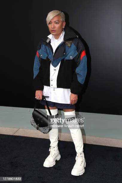 BryanBoy attends the Louis Vuitton Womenswear Spring/Summer 2021 show as part of Paris Fashion Week on October 06, 2020 in Paris, France.