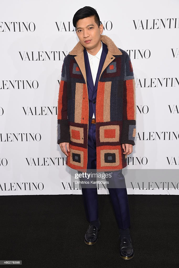 Bryanboy attends the Valentino Sala Bianca 945 Event on December 10, 2014 in New York City.