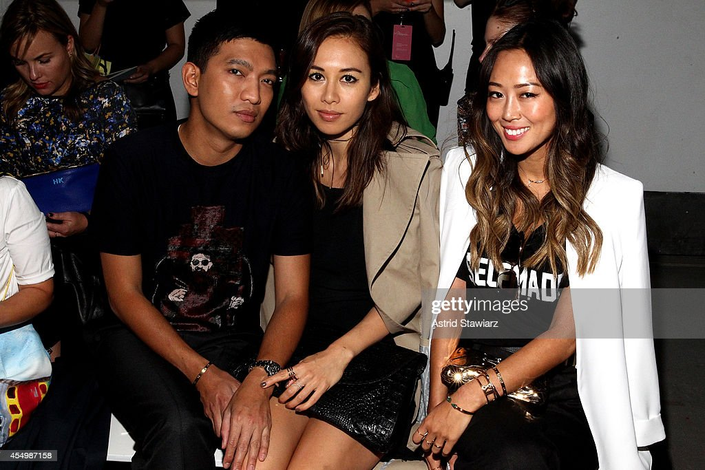 TRESemme at 3.1 Philip Lim Spring Summer 2015 - Backstage/Front Row