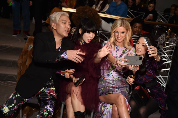 NY: Prabal Gurung - Front Row - February 2020 - New York Fashion Week: The Shows