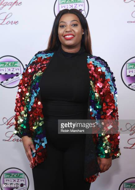 Bryanna Hill attends Agape Love Red Carpet on January 13 2018 in Milwaukee Wisconsin