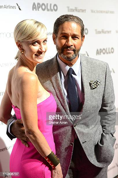 Bryant Gumbel and Hilary Gumbel attend the 8th annual Apollo Theater Spring Gala Concert at The Apollo Theater on June 10 2013 in New York City