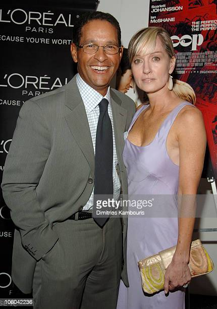 Bryant Gumbel and Hilary Quinlan during Scoop New York Screening July 26 2006 at The Museum of Modern Art in New York City New York United States
