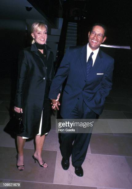 Bryant Gumbel and wife Hilary Quinlan during RiskTakers In The Arts Hosted By The Sundance Institute at Cipriani in New York City New York United...